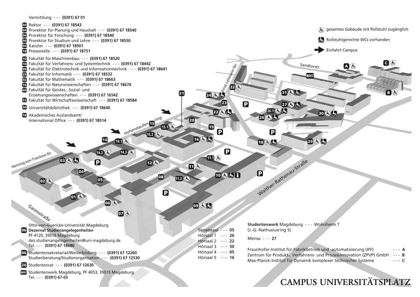 marian dà rk campus map